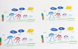 Papel de dibujo infantil