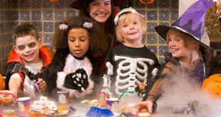 Halloween con los niños
