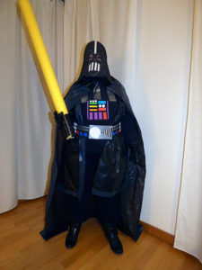 Disfraz de Darth Vader final
