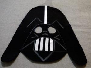 Disfraz de Darth Vader mascara