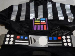 Disfraz de Darth Vader traje