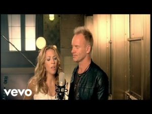 Sheryl Crow and Sting Always On Your Side