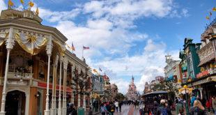 Las distintas zonas de Disneyland Paris
