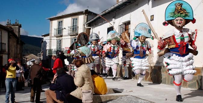 Carnavales más originales Peliqueiros Laza