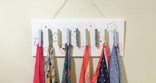 Colgador de pinzas de la ropa para el día de la madre