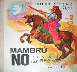 Manbru no fue a la guerra